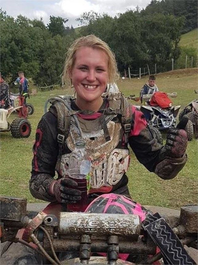 """Tributes have been paid to a competitive quad biker from Driffield who tragically died after a crash in Romania. Katie Hodgson, 24, had been navigating a route on a treacherous slope called """"Killer Hill"""" when tragedy struck and she was crushed by her own quad bike on Thursday, April 11. She later died in hospital. The """"true Yorkshire lass full of passion and love"""" had been on the trip to eastern Europe with her boyfriend, Richard Freestone, who had only been a few seconds in front of her on the track."""