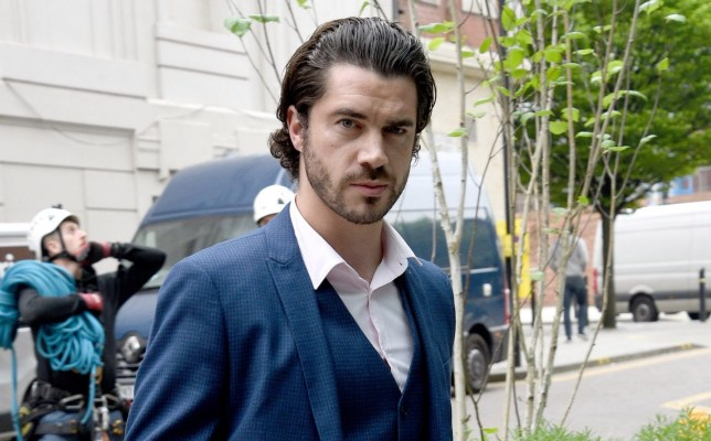 Sam Robertson, who plays Adam Barlow on Coronation Street