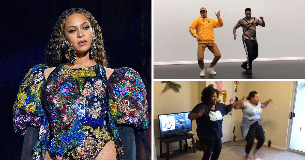 Beyonce launches Before I Let You Go dance challenge