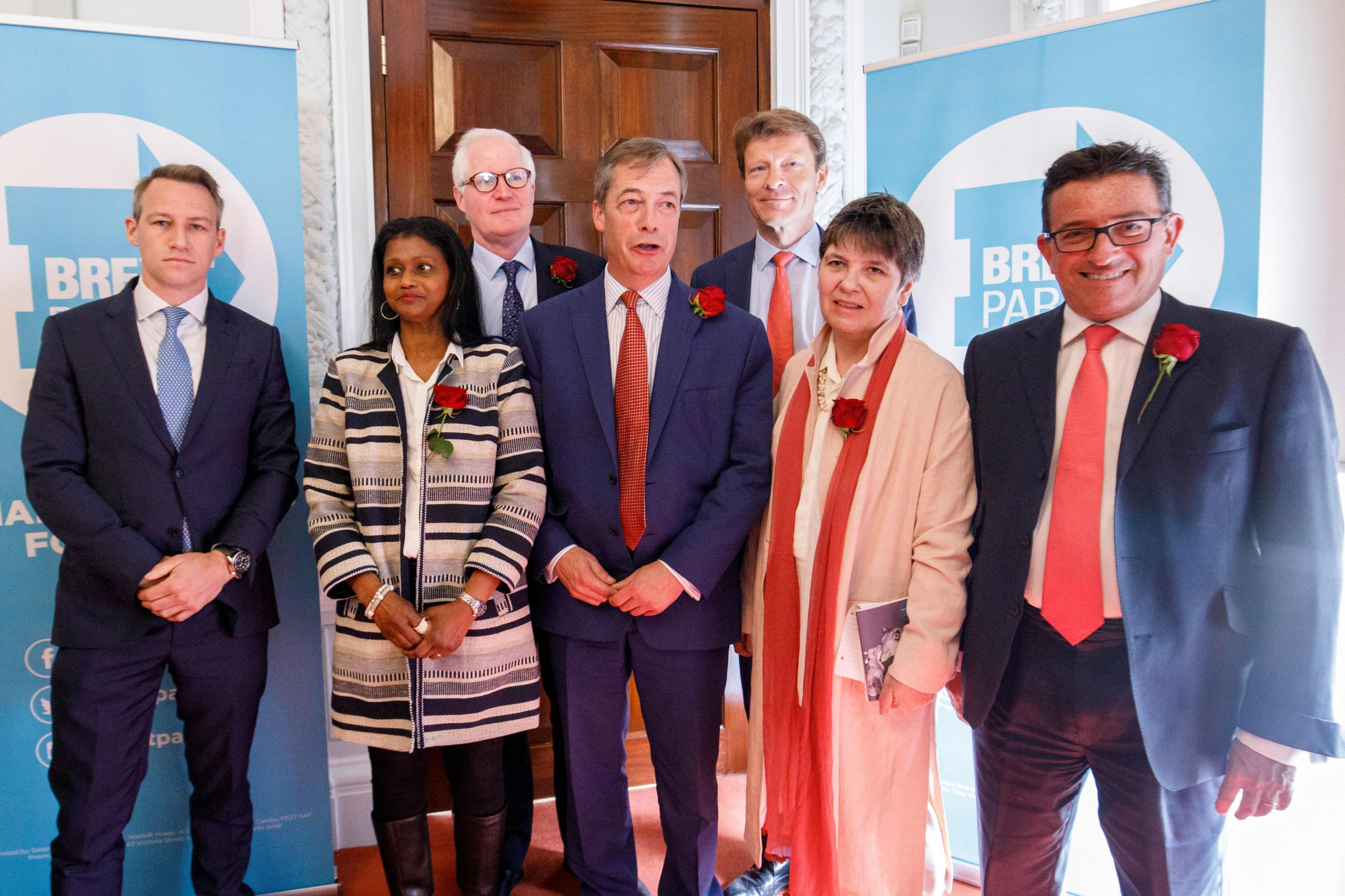 What is the Brexit Party and who are their EU election candidates?