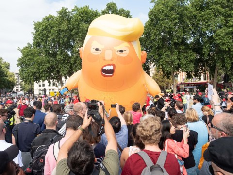 Donald Trump baby blimp will fly again and it could be five times bigger