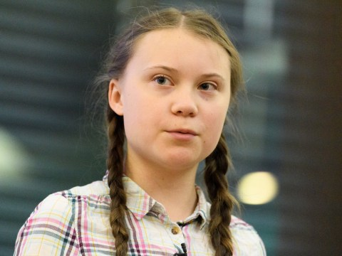 Who is Greta Thunberg and what did she say in her speech about climate change?