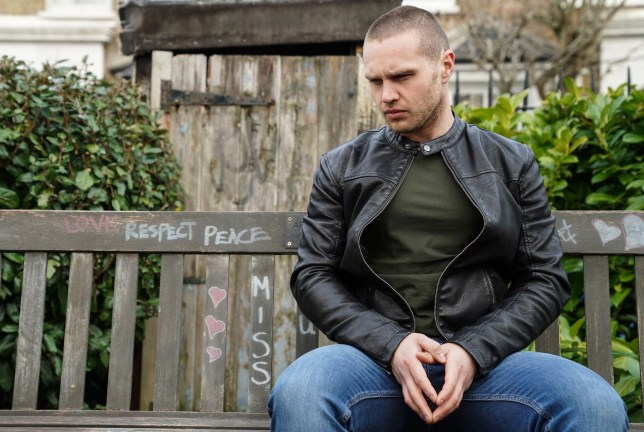 Keanu Taylor (Danny Walters) is shocked by Louise's (Tilly Keeper) news