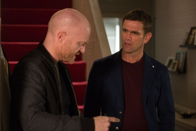 Max Branning (Jake Wood) returns to a big fight on his hands