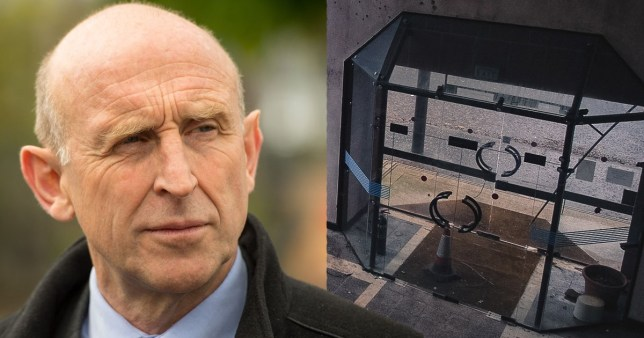 """Shadow housing minister John Healey said Labour would scrap 'permitted development rights', which he labelled """"a plain dodge"""" allowing """"slum-like housing"""" to be built without windows or with """"paper-thin walls"""". He said: """"This is a get-out clause the Conservatives introduced for developers that allows them to dodge any social housing obligations and allows them to build slum-like housing."""""""