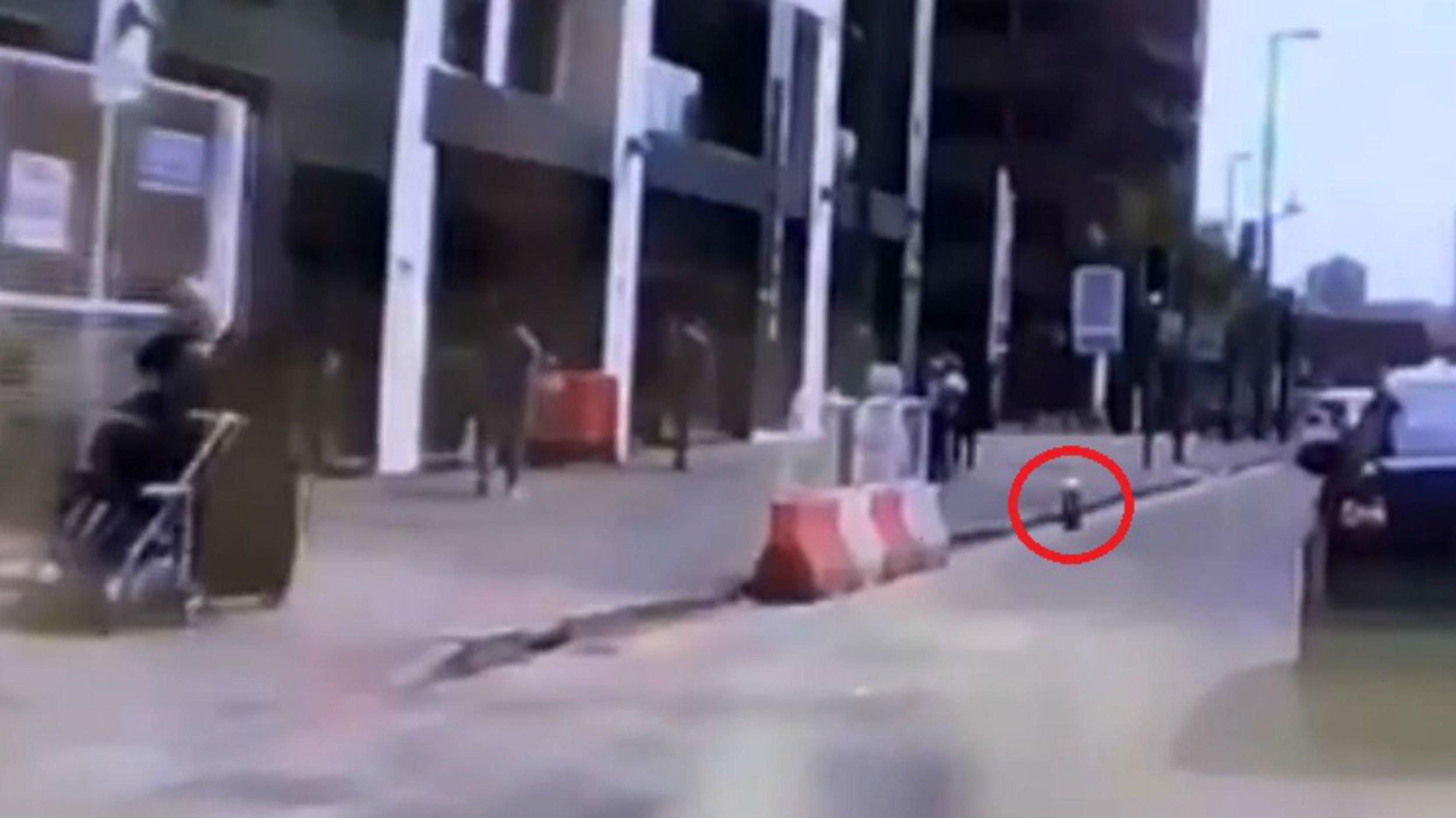 Cider thrown at Muslim women pushing pram