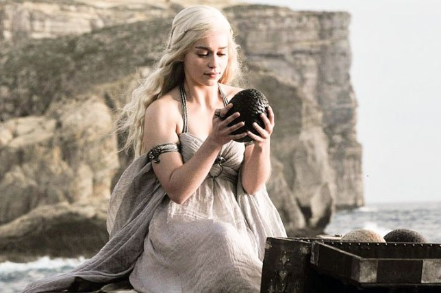 game of thrones daenerys dragon egg
