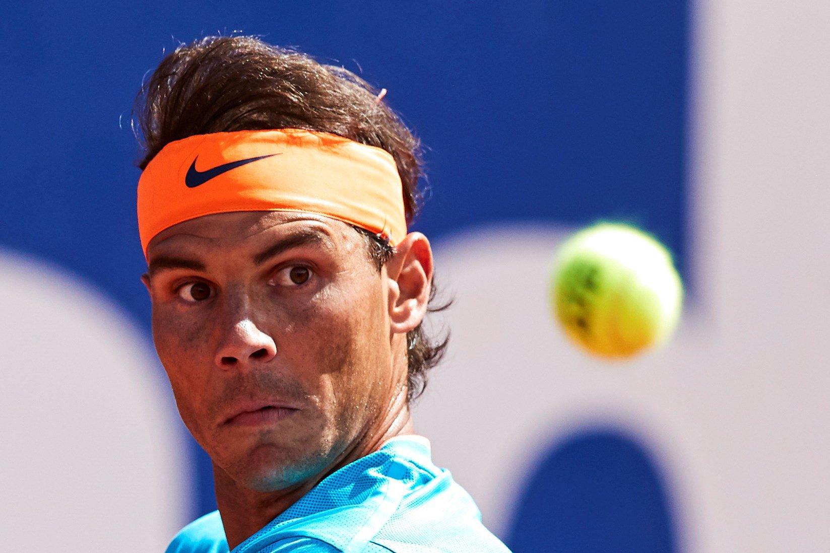 Rafael Nadal dodges Justin Gimelstob questions in Barcelona