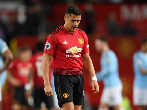 Alexis Sanchez hits new low at Manchester United in Manchester City defeat by registering just one touch