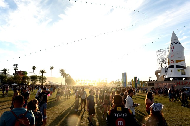 INDIO, CALIFORNIA - APRIL 14: A general view of atmosphere during Weekend 1, Day 3 of the Coachella Valley Music and Arts Festival on April 14, 2019 in Indio, California. (Photo by Scott Dudelson/Getty Images for Coachella)