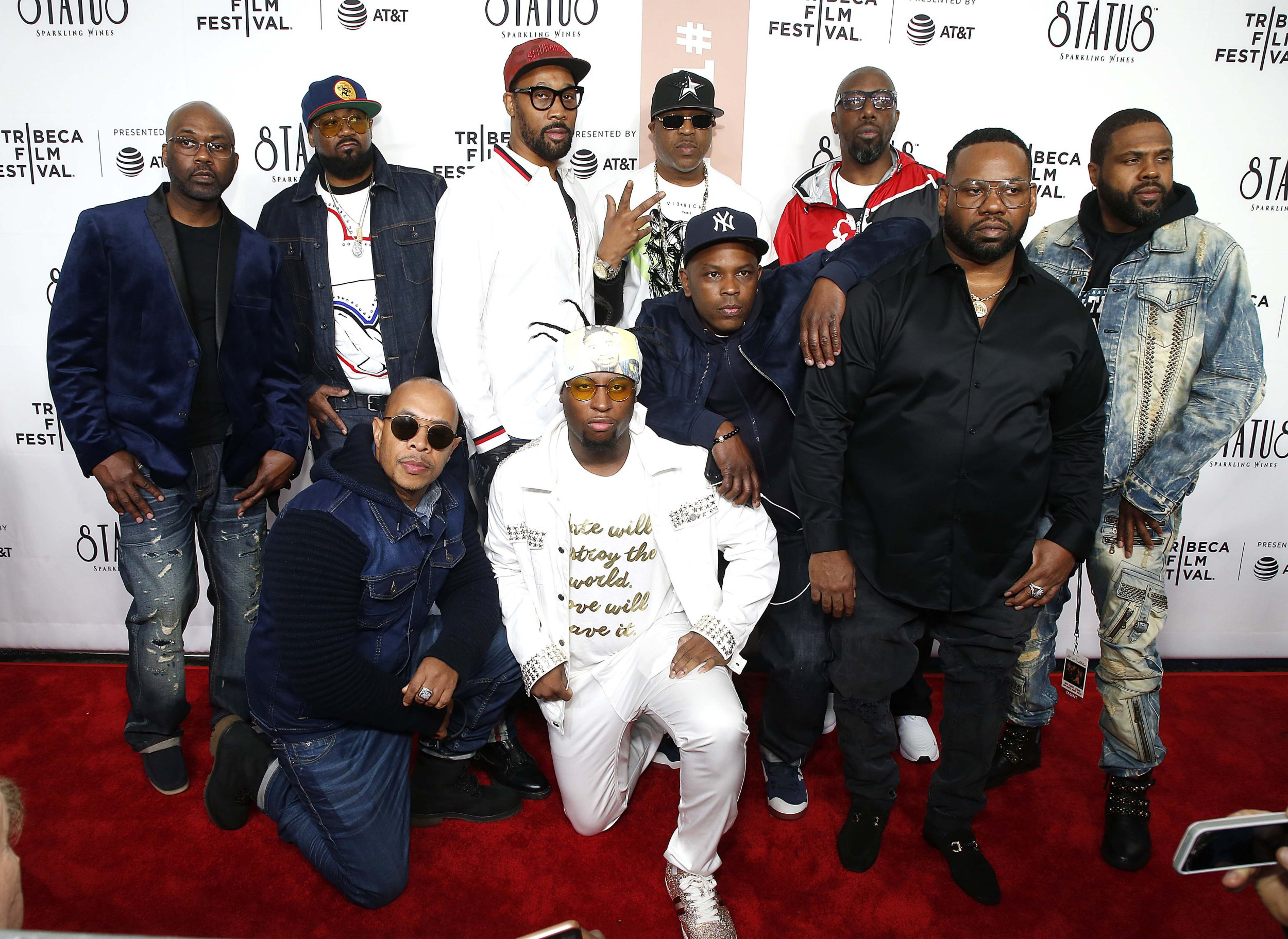 Wu-Tang Clan turn up in force for premiere of new documentary at Tribeca Film Festival
