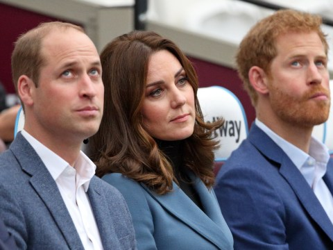Kate Middleton trying to play peacemaker in war between royal brothers William and Harry