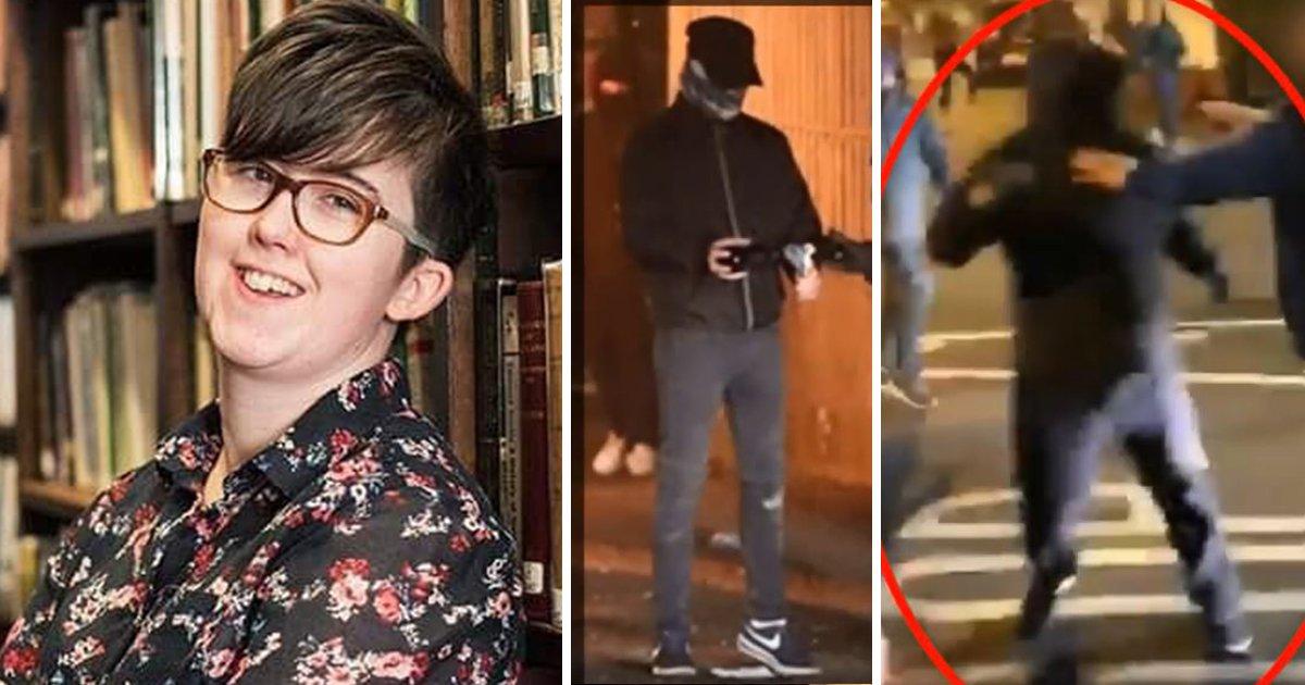 First picture of 'gunman' who murdered journalist Lyra McKee