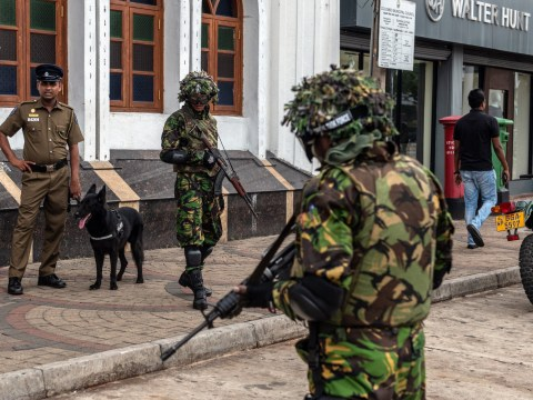 Sri Lanka soldiers in gun battle with Easter Sunday terror suspects
