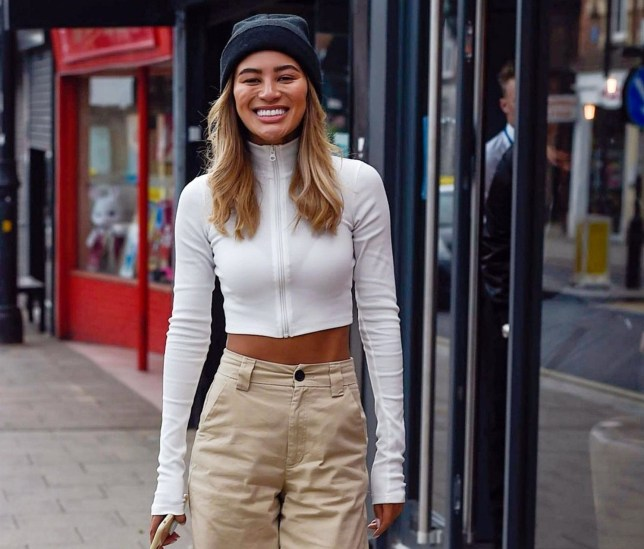 BGUK_1560985 - *EXCLUSIVE* loughton, UNITED KINGDOM - The late Mike Thalassitis' Essex restaurant 'The Skillet' opens with friend Montana Brown being the first customer along with Scott Thomas Pictured: Montana Brown BACKGRID UK 26 APRIL 2019 BYLINE MUST READ: JAIMIE / BACKGRID UK: +44 208 344 2007 / uksales@backgrid.com USA: +1 310 798 9111 / usasales@backgrid.com *UK Clients - Pictures Containing Children Please Pixelate Face Prior To Publication*