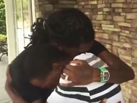 Offset has tearful reunion with dad after not seeing him for 23 years: 'Dreams do come true'