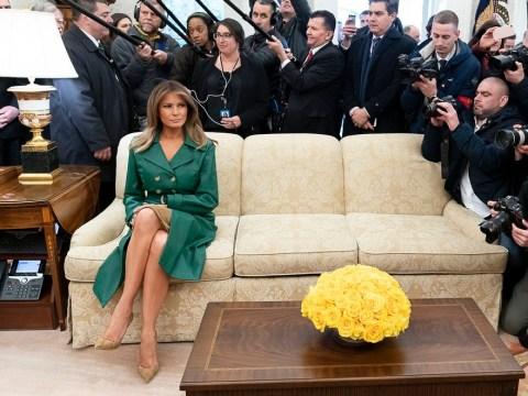 White House picks really bizarre picture to celebrate Melania Trump's birthday