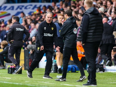 Marcelo Bielsa and John Terry in touchline bust-up as Leeds allow Aston Villa to score