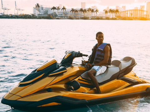 Diddy gives son Christian Combs a golden jet ski to celebrate his 21st birthday