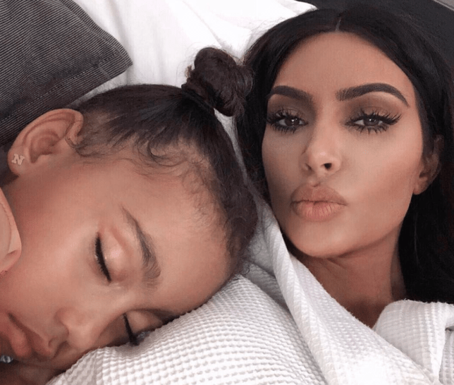 North West pretended Kim Kardashian was dead for April Fool's Day