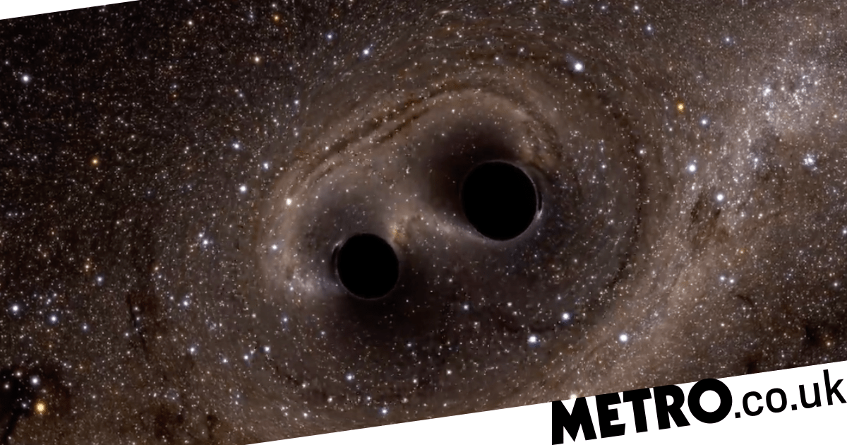 Nasa reveals what happens when two monster black holes smash into each other