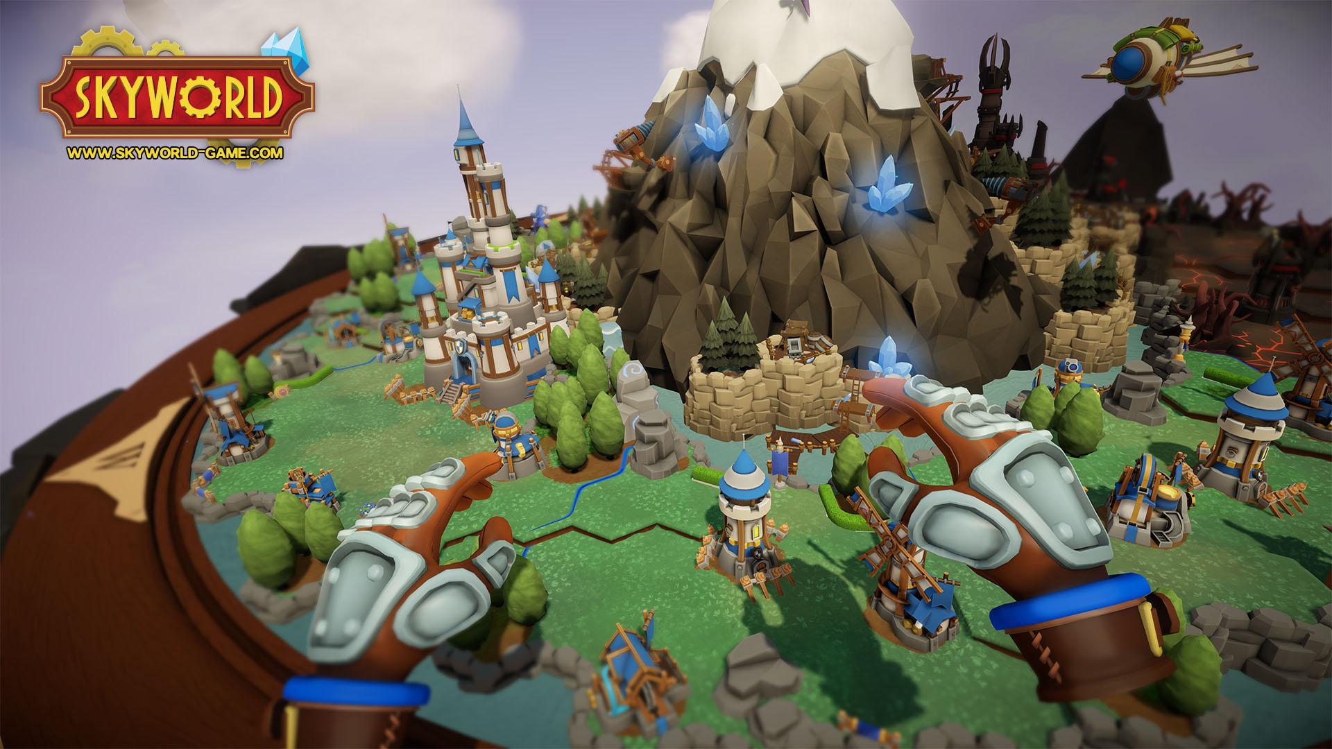 Skyworld (PSVR) - a new reality of strategy game
