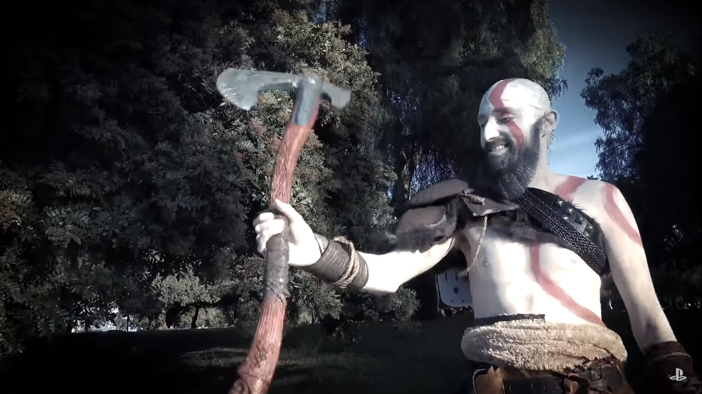God Of War thank you video celebrates one year anniversary