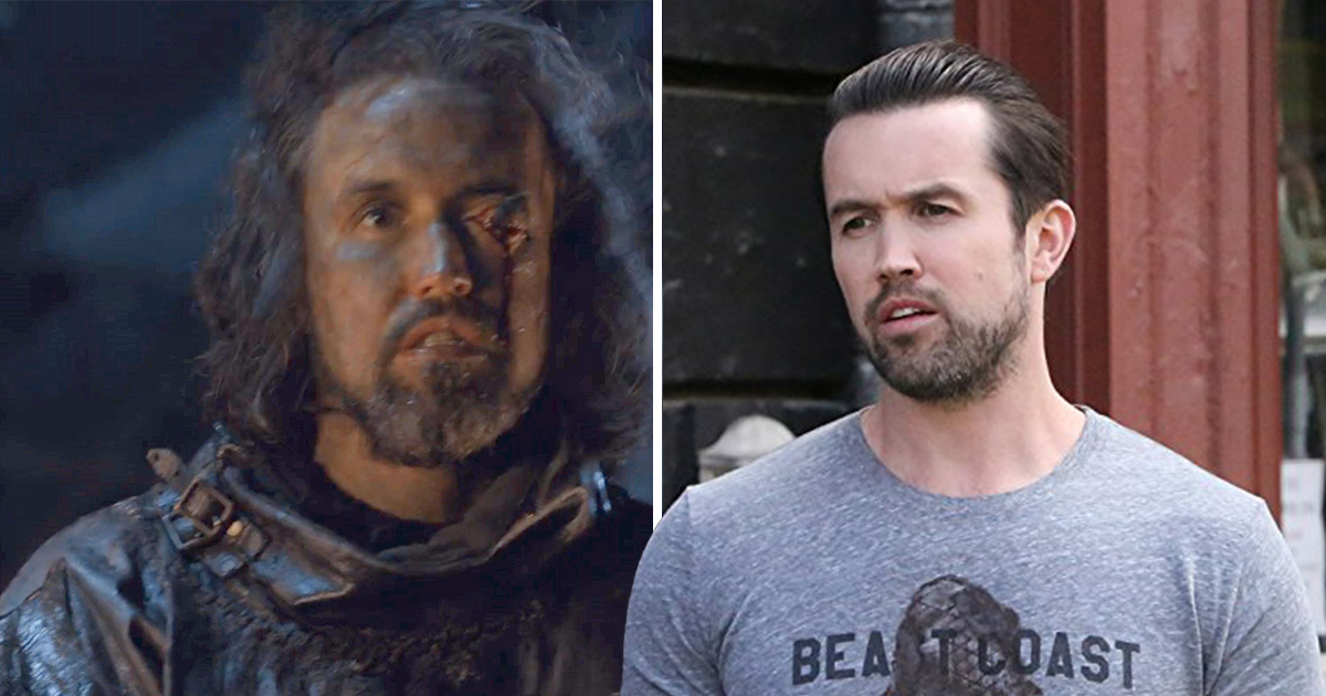 Rob McElhenney cameo in Game Of Thrones