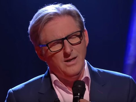Line Of Duty's Adrian Dunbar gave a surprise performance on live TV and that fella can sing