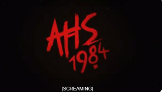 American Horror Story series 1984 logo