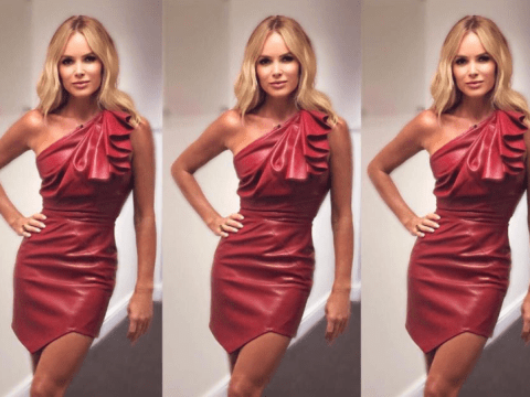 Amanda Holden serves looks as she announces she's Holly Willoughby Celebrity Juice stand-in
