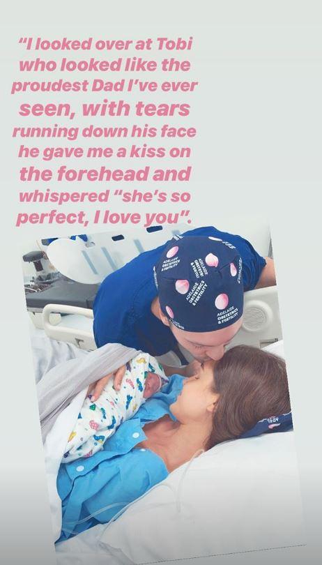 Kayla Itsines baby announcemnt