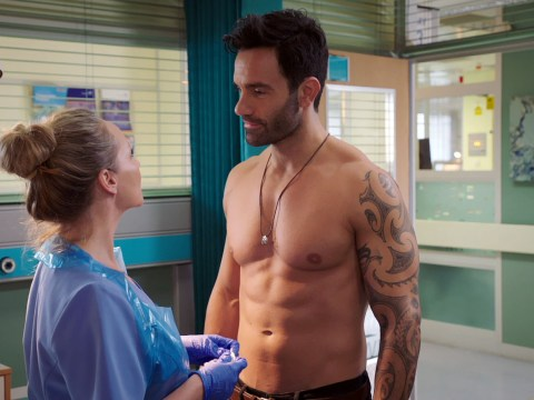 Holby City review with spoilers: New doctor Kian turns heads, while Dom continues to struggle