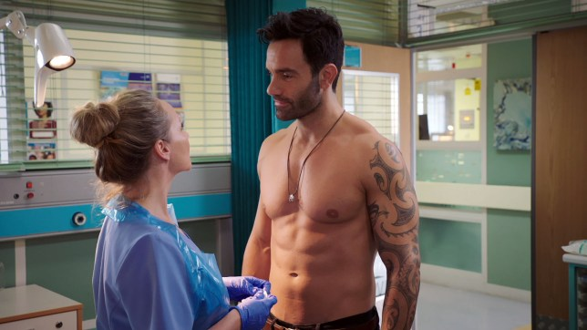 Kian impresses Essie in Holby City