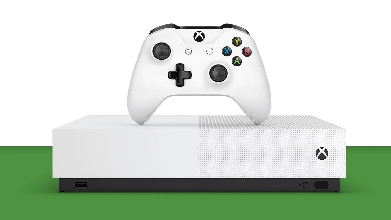 Xbox One S All-Digital Edition - not Blu-ray compatible