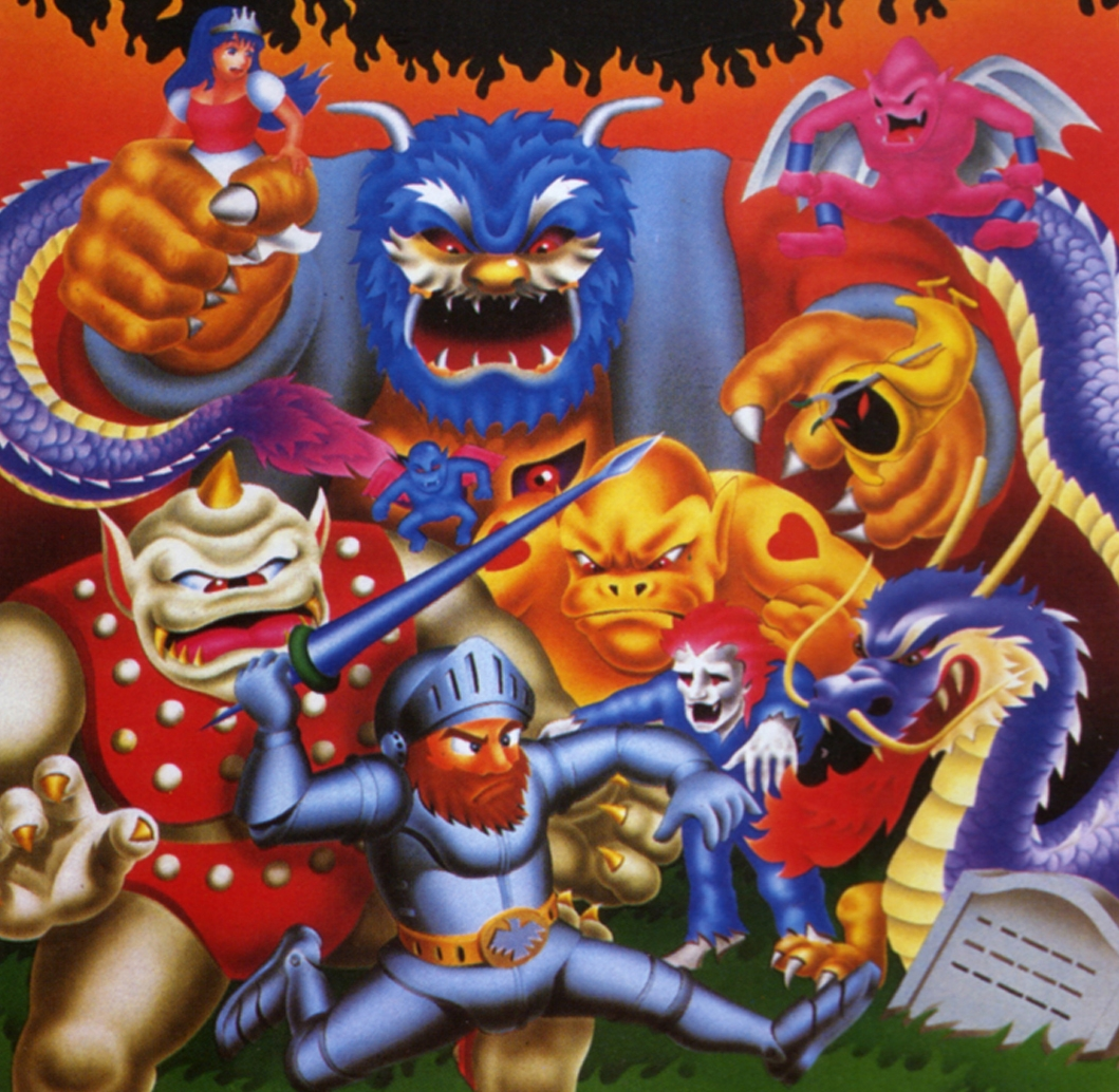 Ghosts 'N Goblins - definitely a classic