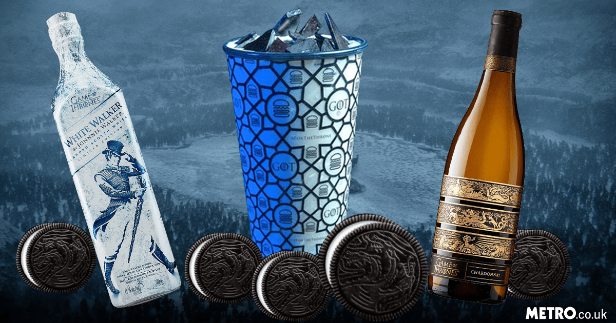 Game Of Thrones oreos/other food and splash equipment [sat]