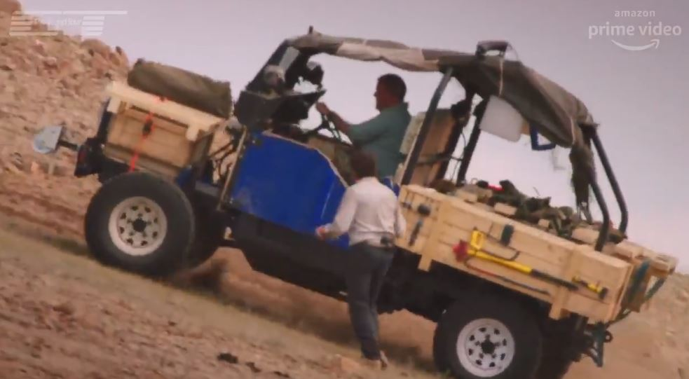 The Grand Tour's 'new team member' John causes havoc for Jeremy Clarkson and we already love it