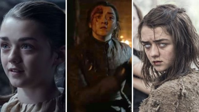 arya game of thrones age