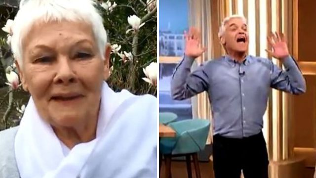 Phillip Schofield's reaction to Dame Judi Dench message for his birthday is precious