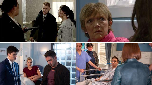 10 soap spoilers: Coronation Street roof collapse twist, Emmerdale Maya blackmail, EastEnders Louise danger, Hollyoaks DNA shocker
