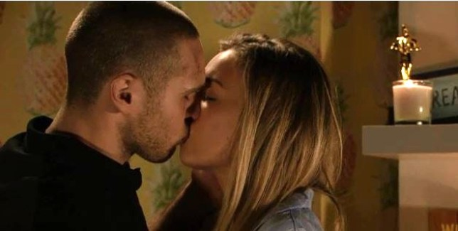Louise Mitchell (Tilly Keeper) was rescued with moments to spare by Keanu Taylor (Danny Walters)