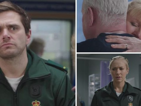 Casualty review with spoilers: Chuffy reunited and Iain returns to work