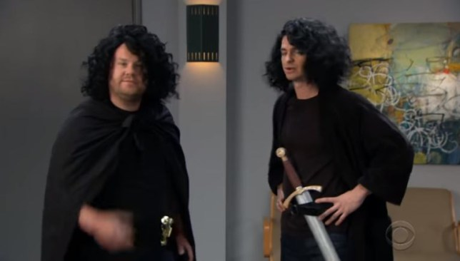 James Corden and Andrew Garfield strip off to try and land Game Of Thrones role
