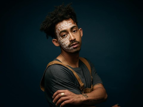 People with mental health issues wear their thoughts on their faces for powerful photo series
