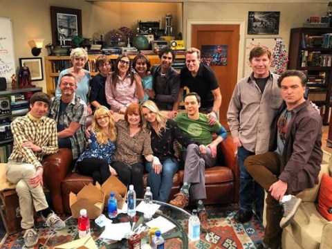 The Big Bang Theory star Kaley Cuoco 'slowly says goodbye' to cast and crew with sweet behind-the-scenes pic