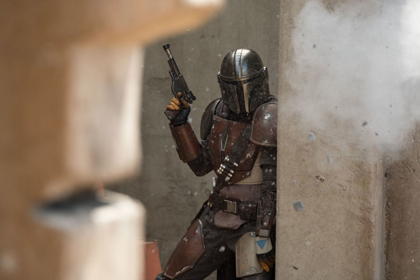 First look at Star Wars TV series The Mandalorian gets standing ovation