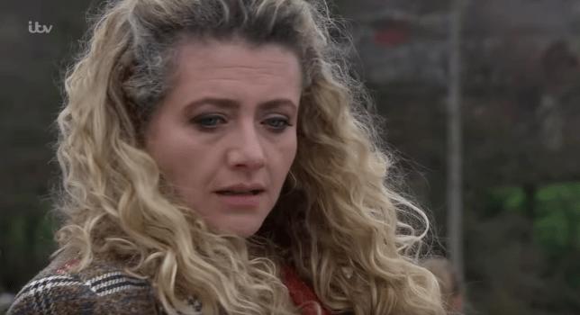 Louisa Clein as Maya Stepney in Emmerdale