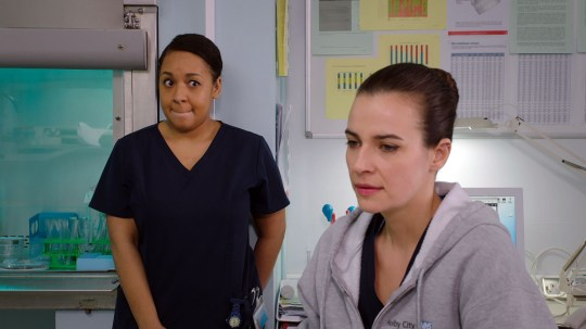 holby city jac pregnant