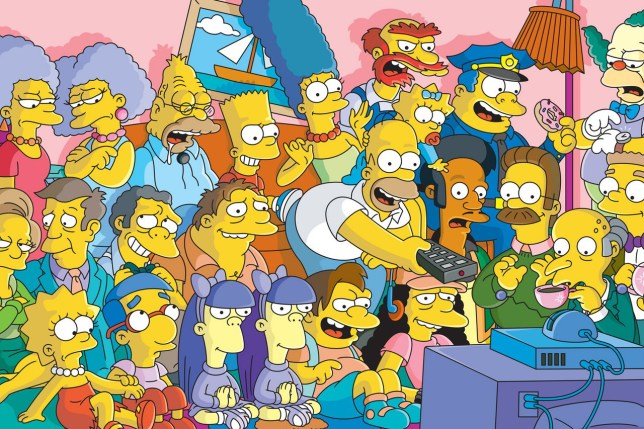 The Simpsons Full cast